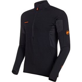 Mammut Moench Advanced Maglietta maniche lunghe mezza zip Uomo, black
